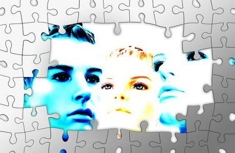 Faces in a puzzle www.jeanswriting.com
