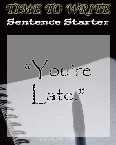 Time To Write Sentence Starter | Writing Prompt | Creative Writing | RachelPoli.com