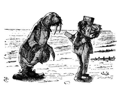 Walrus_and_Carpenter by Tenniel