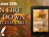 Cover Reveal: When Fire Rains Down, by Cecelia Earl @shanannigans81 and @authorcecelia