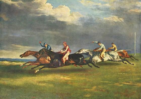 epsom-Derby-1821-Jean-Louis-Thodore-Gricault