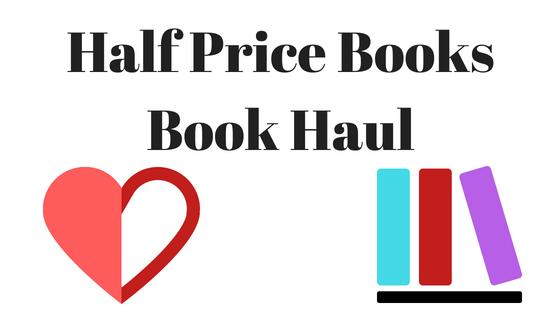 Half Price Books Book Haul