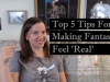 5 Writing Tips for Making Fantasy Feel 'Real'