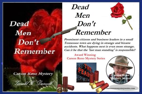 Ger dead men don't remember with blurb