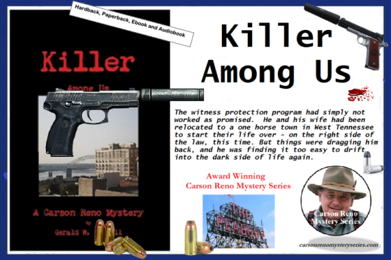 Ger killer among us with blurb