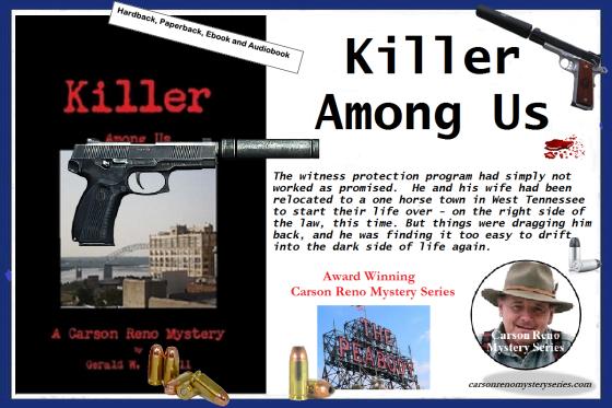 Ger killer among us with blurb