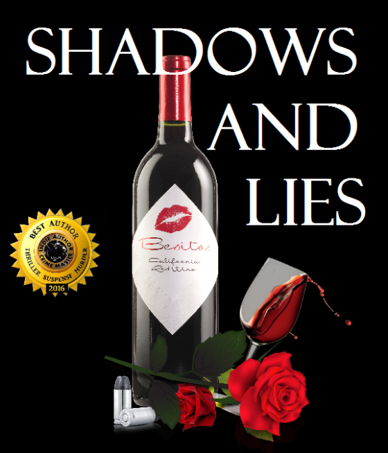 Ger shadow and lies with wine