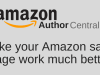 How To Use Author Central And Your Amazon Author Page – by Derek Haines…