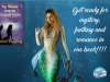 """""""I adored this short tale, full of romance, mystery, and fantasy."""" – The Mermaid With The Seahorse Tattoo by KarenVaughan"""